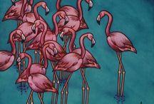 Fuckamingos / Flamingo love  / by Tasha Adams