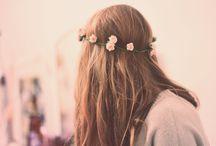 Flower crowns  / Just cuz I'm a little bit indie