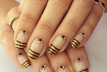 Artists Who Nail It / When it comes to nail polish, these girls nailed it.