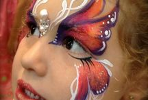 Face Painting Butterflies