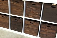 DIY Toy Storage and Wooden Crates