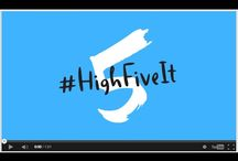 Save kids' lives with #HighFiveIt / 17,000 kids die every day from preventable causes. This stops now. #HighFiveIt with UNICEF to save lives and change the world one high-five at a time: http://highfiveit.org