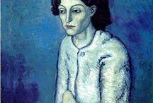 Picasso blue period