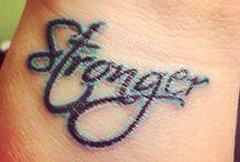 stronger tattoo ideas