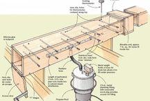 dřevo uprava