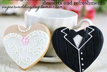 Engagement, Wedding & wedding reception ideas / by Marilyn Harrington Maris