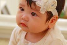 Bebek saç bantlarıy