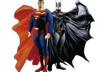 Héroes del Cómic  / Ilustraciones de los héroes del cómic