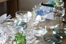 透明工房 / 埼玉県嵐山町の「透明工房」で製作されている透明ガラス作家 伊藤公恵さんの作品をご紹介しています。