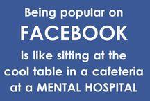 Facebook Jokes / Jokes about Facebook! / by Daniel D'Laine