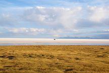 Uyuni salt flat, Bolivia.