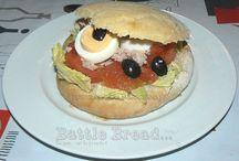 Battle Bread #2 / { Un sandwich au menu! }