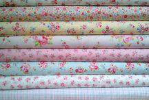 fabrics and ribbons
