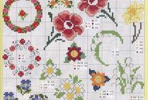 cross stitch patterns - mini designs