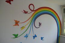 Rainbow unicorn bedroom ideas