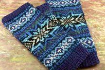 crafts - mittens & socks