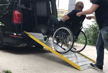 Wheelchair Van Ramps / Wheelchair ramp, ramp for disabled people, wheelchair van ramp, wheelchair vehicle ramp, disabled vehicle access, wheelchair user, ramp, aluminum ramp, lightweight ramp, ramp angle
