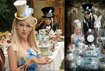 Birthday:  Alice in Wonderland / Mad Hatters Tea Party / by Donna Coy
