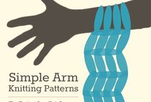 Arm Knitting knitting