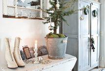 Vánoční výzdoba aranže