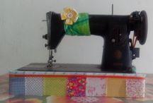 artesanato / artesanato variado com aproveitamento de retalhos do atelier, reciclar é preciso e é arte