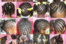 Idée coiffures enfants
