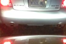 Funny License Plates / For A Giggle
