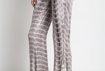 Palazzo's In Paradise / Fashionable palazzo style pants in fun and fabulous prints!