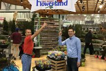 Flowerland Events / We have great fun-ctions going on every month at the various Flowerland locations. Flowerland Best Garden Center Grand Rapids Michigan Myflowerland Flowers Flower Gardener Gardening Green Plants Reindeer Santa Owls Owl Painting Classes Party Show