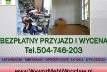 Wywóz starych mebli, tel 504-746-203, odbiór mebli Wrocław / Wywóz mebli wraz z ich wyniesieniem z mieszkania, tel 504-746-203, Wrocław. Usługi wywozu starych mebli, nie martw się o ich wyniesienie. Oferujemy wywóz starych mebli wraz z ich wynoszeniem z mieszkania. Stare ciężkie wersalki, szafy, duże dywany? Znoszenie i wywożenie zbędnych gabarytów pozostaw nam!. Przyjazd i wycena usługi jest bezpłatna.tel 504-746-203, Cena wywozu jest ustalana indywidualnie na miejscu. http://www.omegaplus.home.pl/wywozmebli/