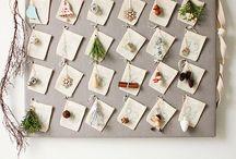 DIY Adventskalender / Selbermach-Ideen für Adventskalender, Basteleien, DIY, Adventskalender-Deko, Weihnachten