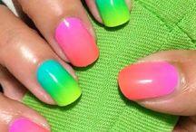 Οmbre nails / Υπέροχα σχέδια  για nombre νύχια #staxtopouta #nails