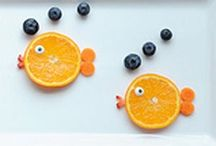 Kiddie Food Fun / Is your child a picky eater? These fun, creative meal ideas should get their appetite running! :)  / by PishPosh Baby