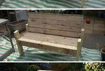 Pallet Bench/Chair