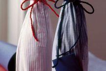Porta bottiglia camicia / Porta bottiglia manica camicia