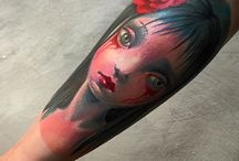 our fav. color works / sample of our most fav. color tattoos and art works