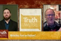 """RC's """"Truth Matters"""" Videos / We have a weekly streaming Apologetics broadcast with guests and experts covering many topics! This isn't all of our videos! See how/when/where to watch """"Truth Matters"""" live or later: http://ratiocristi.org/truthmatters."""