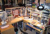 hobby desk ideas
