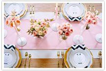 table settings / by Elly Zweigbaum