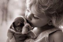 children and animals / by Donna Lundborg