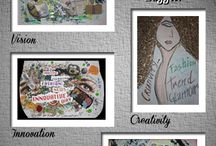 Ever Showed off your Passion for Fashion Creatively?  / Check out these fab art pieces created by our very own Baggit employees. These adorable works of art are a way to express yourself stylishly! Fashion is life-meets-art, decorate it!