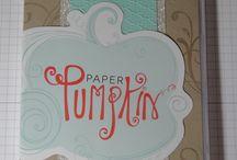 SU paper pumpkin ideas / by Debbie Magann