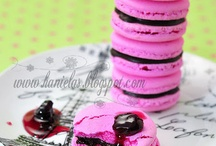 Recipes: Macarons Recipes / I love these beautiful little French Gems. Delicious!! Macarons are perfect for any get together. Look at all the flavors, and colors. / by Nicole Cook {Daily Dish Recipes}