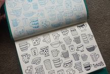 Bullet Journal - doodles