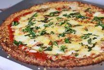 pizza couve-flor