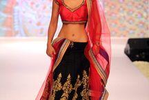 Asian dresses / sari