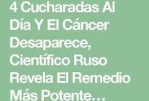 Remedio para el cancer.