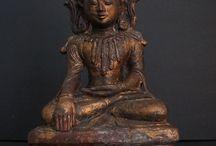 Burmese Bronze Buddha Statues / Burmese Bronze Antique Buddha Statues