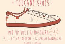 Pop Up 1001 Atmosphera / Toucane Shoes, presente en la próxima Pop Up 1001 Atmosphera, los días 2, 3, 4 y 5 de octubre de 2014, en calle General Pardiñas nº50 (Madrid)