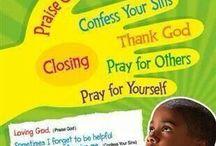 Prayer bulletin board